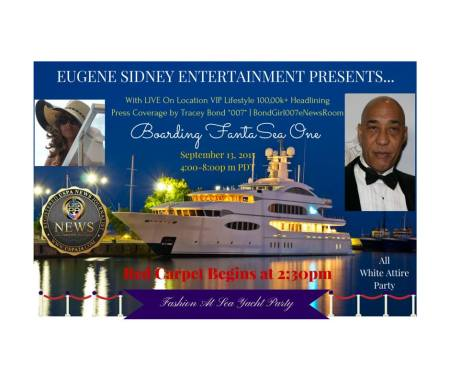 "Tracey Bond of ""Face Booking U"" is proud to be a BRONZE Sponsor for Eugene Sidney Enetertainment's ""Fashion On The Sea"" Event"