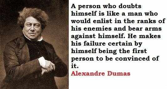 A Dumas Double Dose…quote