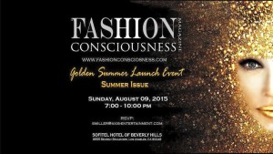 Fashion Conscious Magazine Summer Golden Launch Party