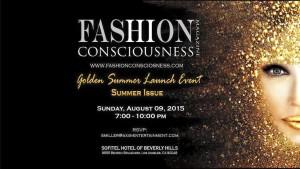 Fashion Conscious Magazine Summer Golden Launch Party