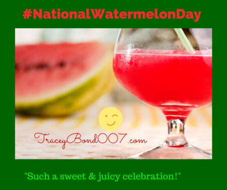 And ummm yes it has its own Facebook page at https://www.facebook.com/WatermelonDay