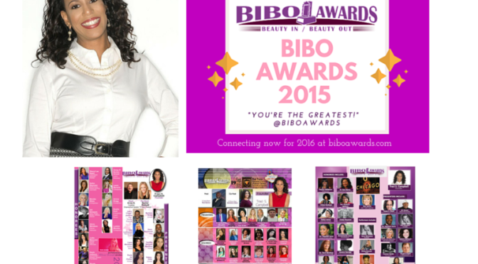 """""""When women come together as 'sisters' …BIBO AWARDS Creator and Founder: Traci S. Campbell"""