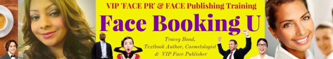 Do you know much your FACE is worth? Get Face Booking U: VIP Face Publishing #FacePR Coursebook on Amazon.com now!