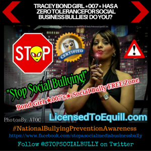 #SASMBB @STOPSOCIALBULLY STOP A SOCIAL MEDIA BUSINESS BULLY FOR OCTOBER NATIONALY BULLYING PREVENTION MONTH