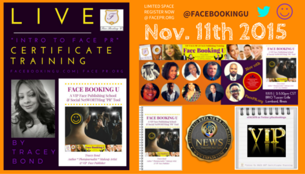 "Nov11th INTRO TO #FACEPR"" Certificate Sets PR Niche Industry History at FacePR.org…"