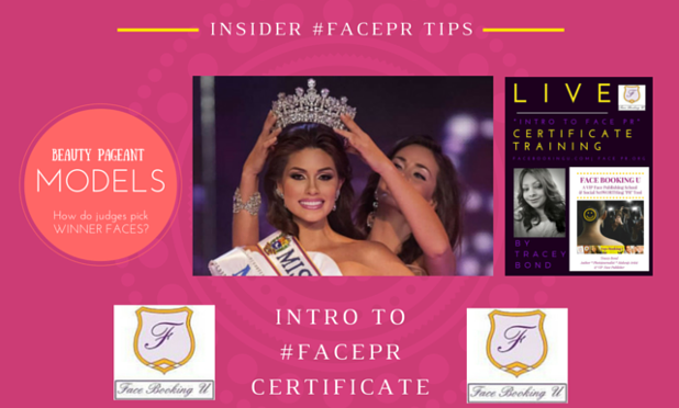 Wed 11-11 FACEPR.org Q: How judges pick faces of beauty pageant winners?