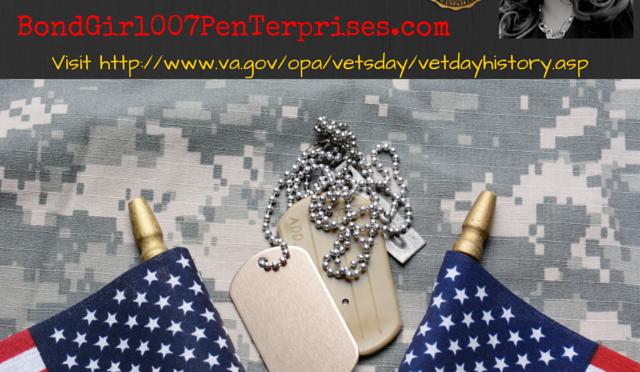^007: #BondGirl007eNewsRoom Honors #VeteransDay