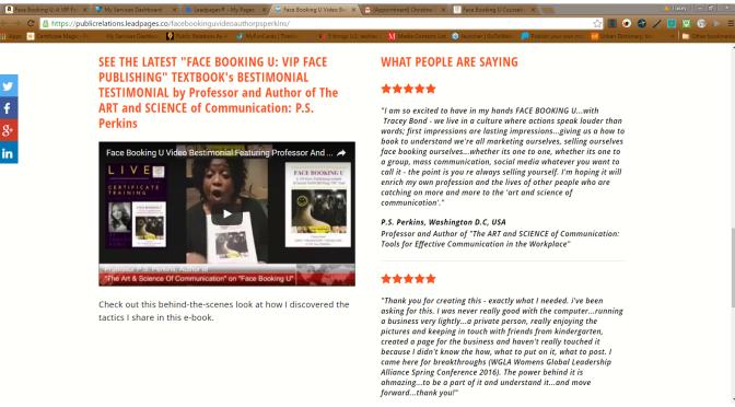 Face Booking U #Video Bestimonial http:/