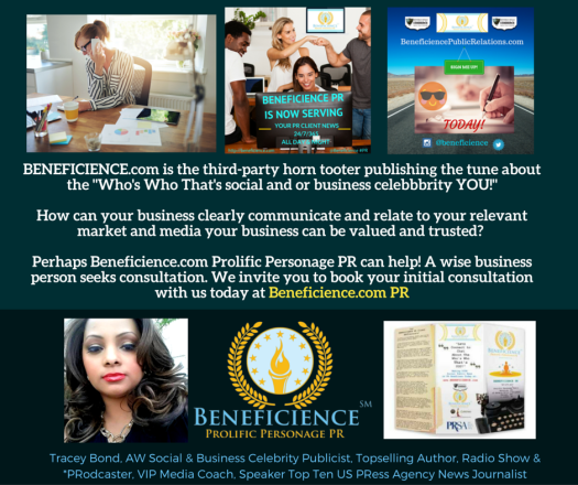 Beneficience.com PR of Beverly Hills Hollywood Chicago