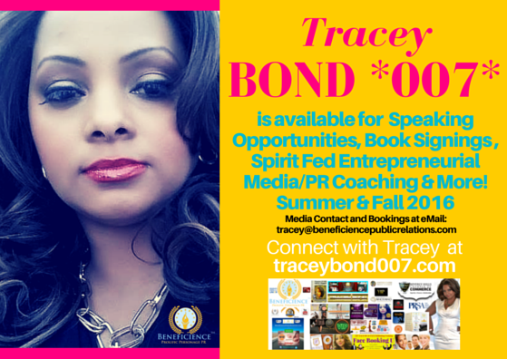 Tracey Bond 007 Speaking opportunities Book Signings & More! (1)