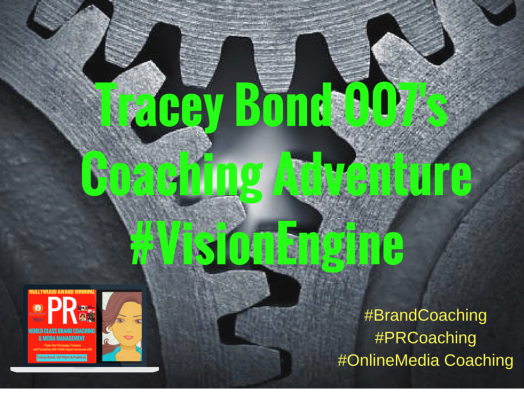 Tracey Bond 007's COACHING ADVENTURE #VISIONENGINE