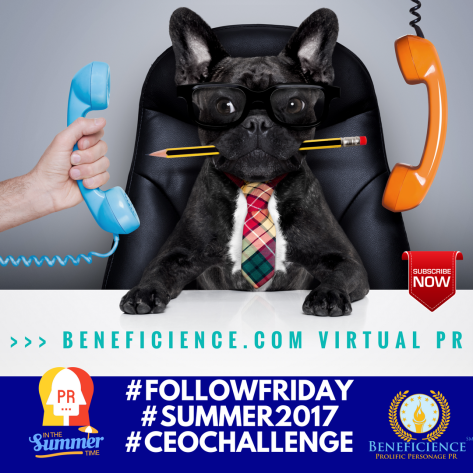 #FOLLOWFRIDAY#SUMMER2017#CEOCHALLENGE