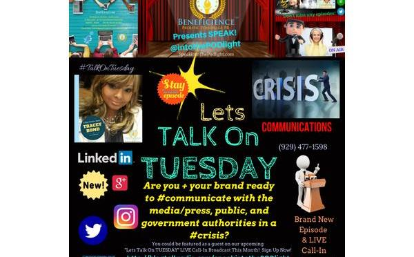 New SpeakintothePODlight show #TalkonTuesday episode Q: Are you + your brand crisis communication ready?