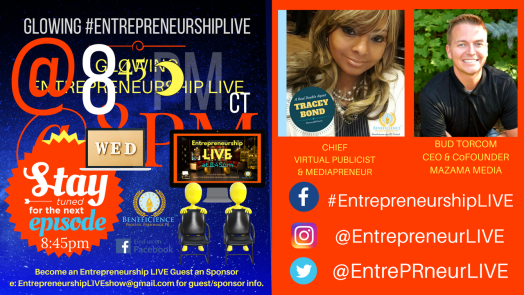 Entrepreneurship LIVE New Episode - New Guests Facebook.comEntrepreneurshipLIVE (1)