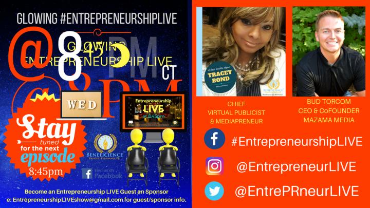 Entrepreneurship LIVE New Episode - New Guests Facebook.comEntrepreneurshipLIVE (1)